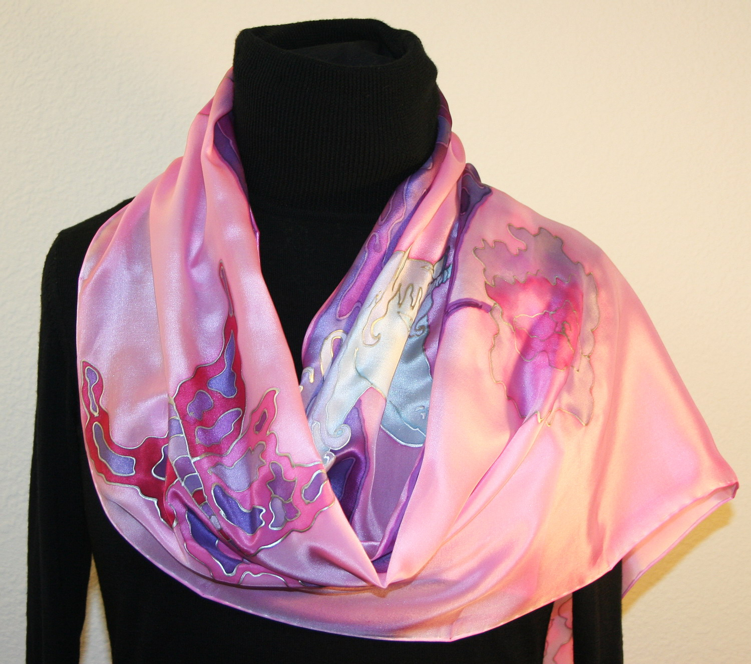 featured silk scarves and accessories tale