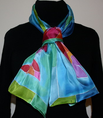 Tips And Ideas How To Wear Your Silk Scarf Or Shawl In An