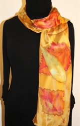 Hand Painted Giveaway Silk Scarf for August 2010 - photo 3