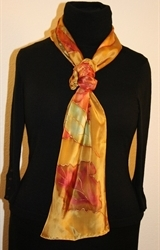 Hand Painted Giveaway Silk Scarf for August 2010 - photo 2