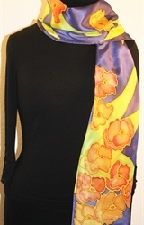 Hand Painted Giveaway Silk Scarf for September 2010 - photo 2