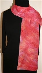 Monthly Hand Painted Silk Scarf Giveaway - November 2010