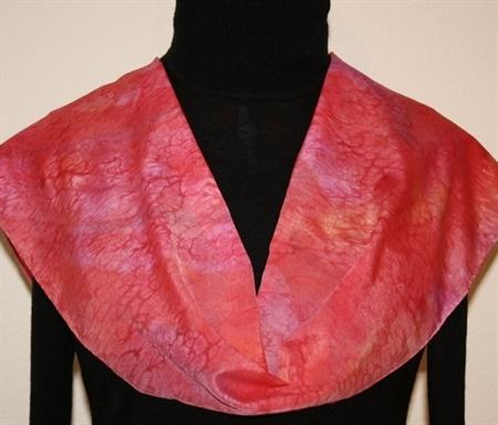 Hand Painted Giveaway Silk Scarf for November 2010