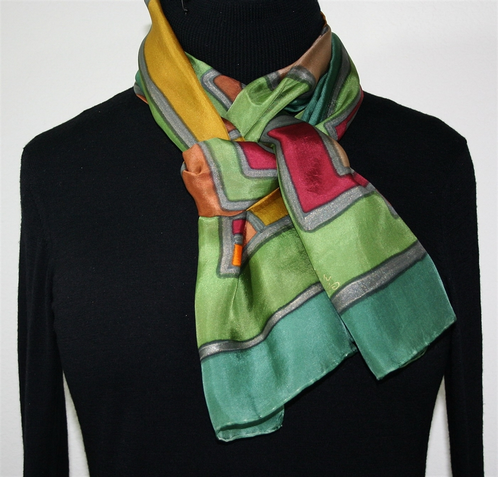 the silk scarf short story Short story-the silk scarf settings: place oriental plaza,johannesburg plot:this story by ahmed essop is about a wife of an important man to be in the new government and her name is mrsnebo.