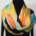 Hand Painted Silk Scarf Giveaway - Celebrating 1300 FB Fans