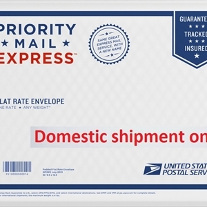 PRICE Adjustment - Upgrade to USPS Priority EXPRESS Mail, USA only